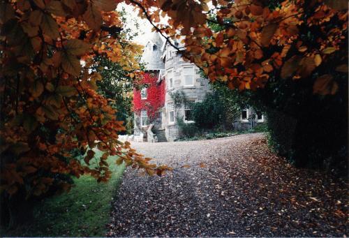 A garden outside Bendarroch House