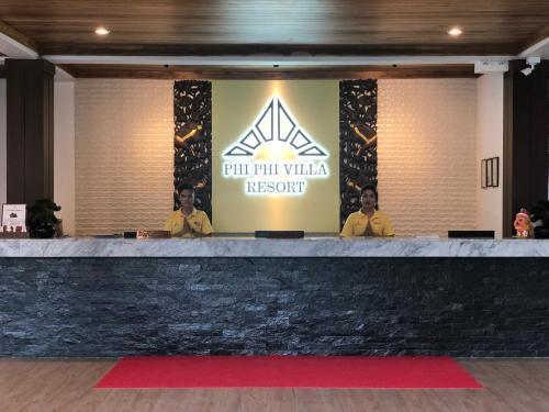 The lobby or reception area at Phi Phi Villa Resort-SHA Plus