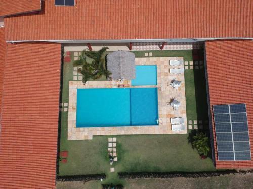 The floor plan of Pousada Brasita