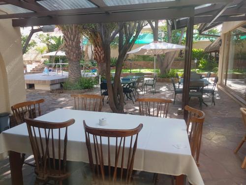 Restaurant ou autre lieu de restauration dans l'établissement hotel pension steiner