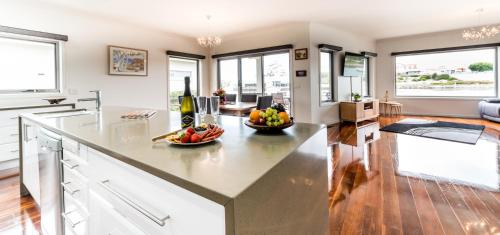 A kitchen or kitchenette at Leven River Retreat