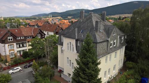 A bird's-eye view of Hostel Goslar
