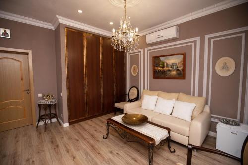 Гостиная зона в Бутик Отель Дубровский