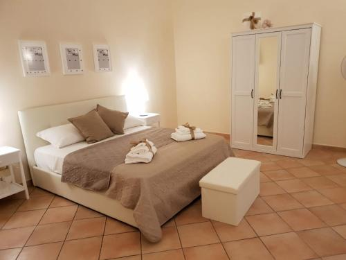 A bed or beds in a room at Dolce Vita maison chic
