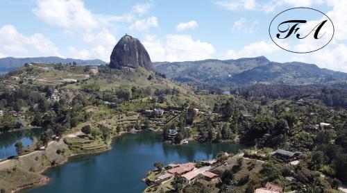 A bird's-eye view of Finca Alejandria