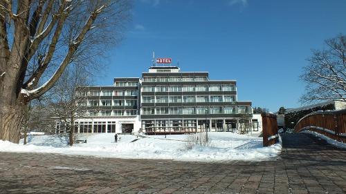 Parkhotel Olsberg during the winter