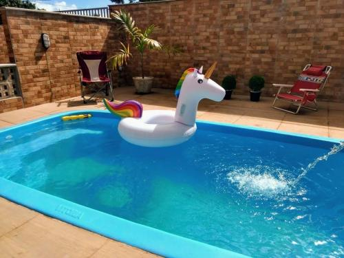 The swimming pool at or close to Pousada Praias do Gostoso