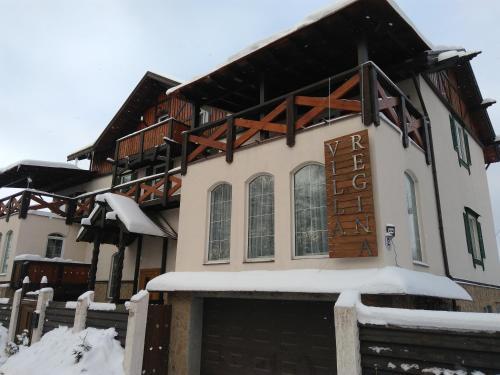 Villa Regina Apart Hotel during the winter