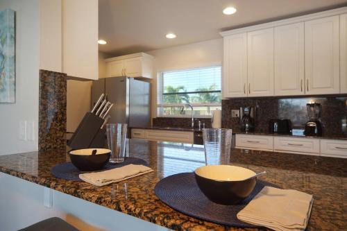 Küche/Küchenzeile in der Unterkunft Majestic Palms
