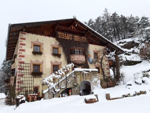 Piburg Seebichlhof during the winter