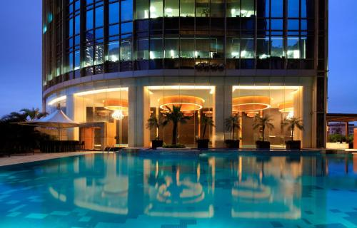 The swimming pool at or near The Westin Guangzhou