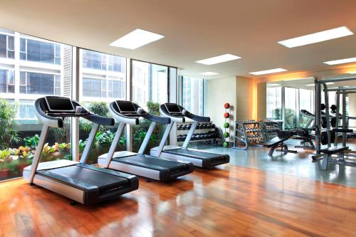 The fitness center and/or fitness facilities at The Westin Guangzhou