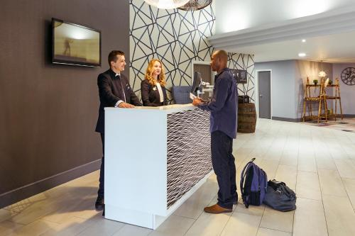 Guests staying at Novotel Manchester West