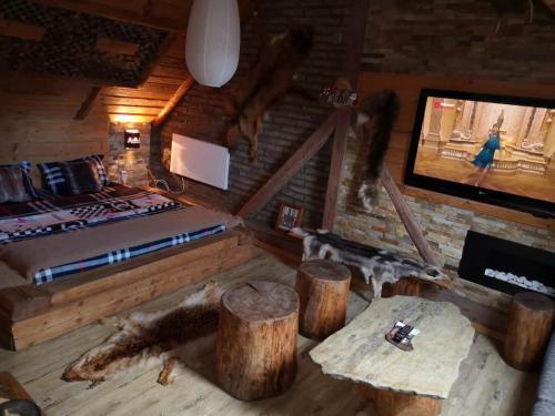 Телевизор и/или развлекательный центр в Aspen