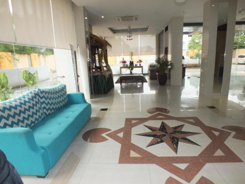 The lobby or reception area at Sahid Mutiara Karawaci