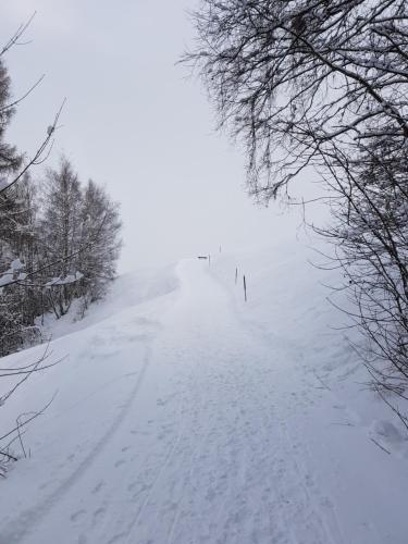 Casa Valtiarm im Winter