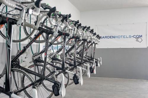 Het fitnesscentrum en/of fitnessfaciliteiten van Alcudia Garden Aparthotel