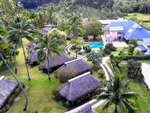 A bird's-eye view of Hotel Hibiscus