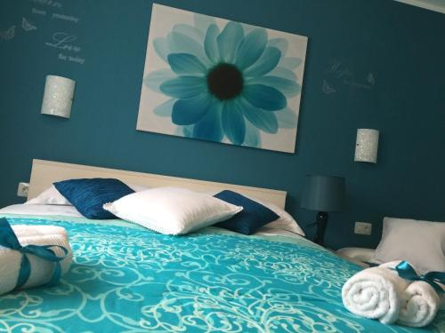 Posteľ alebo postele v izbe v ubytovaní Apartment Villa Barić 4412