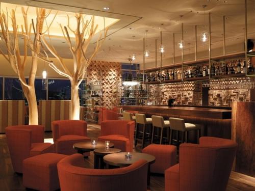 The lounge or bar area at Ramada Plaza by Wyndham Gwangju