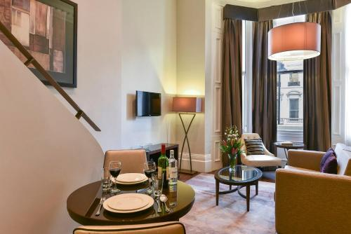 A television and/or entertainment center at Fraser Suites Queens Gate