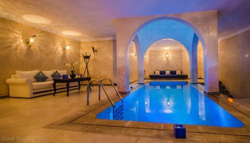 The swimming pool at or near Lina Ryad & Spa
