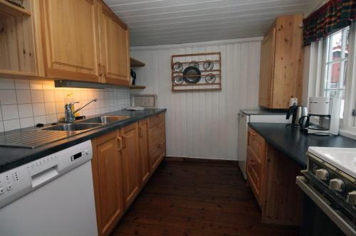 Kjøkken eller kjøkkenkrok på Putten Seter