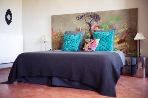 Un ou plusieurs lits dans un hébergement de l'établissement La vie de chateau