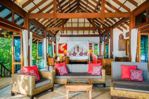 "The lobby or reception area at Koh Jum Beach Villas ""A member of Secret Retreats"""