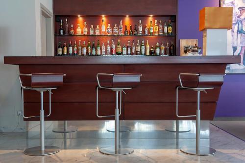 The lounge or bar area at Hotel dei Gonzaga