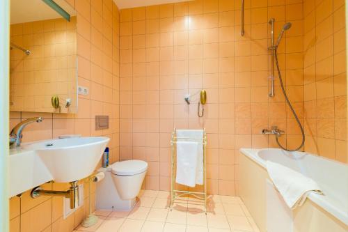 Ванная комната в Бутик отель Pastel'