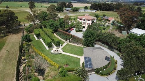 A bird's-eye view of The Gatehouse at Villa Raedward