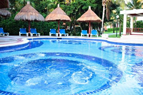 The swimming pool at or near Bahia Principe Grand Coba - All Inclusive