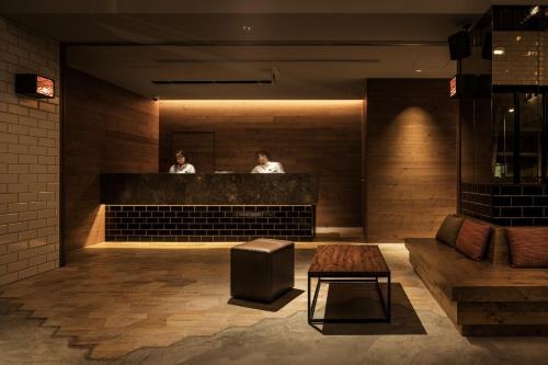 The lobby or reception area at Nest Hotel Osaka Umeda