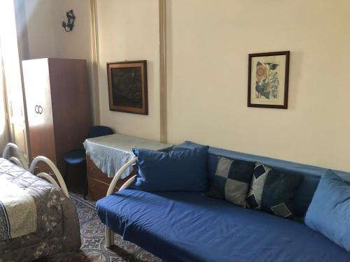 Ein Sitzbereich in der Unterkunft Sisto House