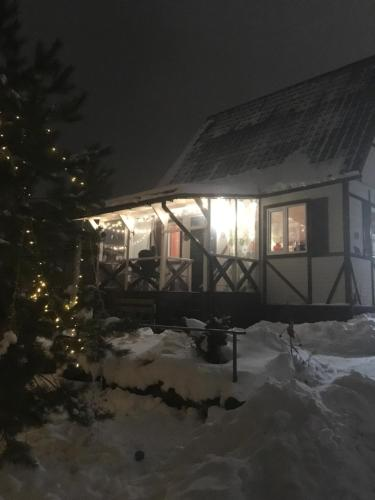 House Panoramy during the winter