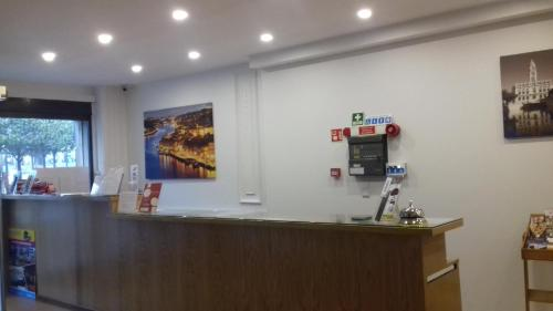 The lobby or reception area at Hotel Paulista