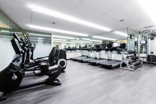 The fitness center and/or fitness facilities at Hotel 1000, LXR Hotels & Resorts