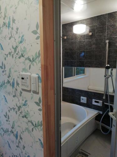 阿吽山房にあるバスルーム