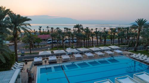 A view of the pool at Isrotel Ganim Hotel Dead Sea or nearby