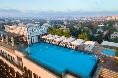 A view of the pool at Orient Jerusalem by Isrotel Exclusive Collection or nearby