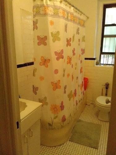 A bathroom at 2187 Cruger Avenue