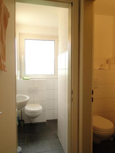 A bathroom at Haus St. Josef