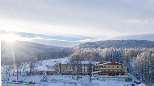 Malinowy Dwór Hotel Medical SPA зимой