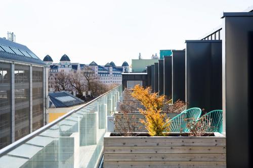 Balcon ou terrasse dans l'établissement Comfort Hotel Xpress Central Station