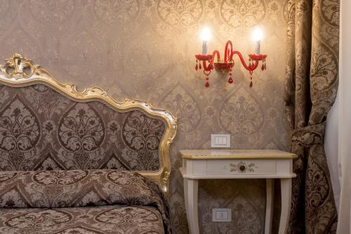 Uma área de estar em Hotel Mezzo Pozzo