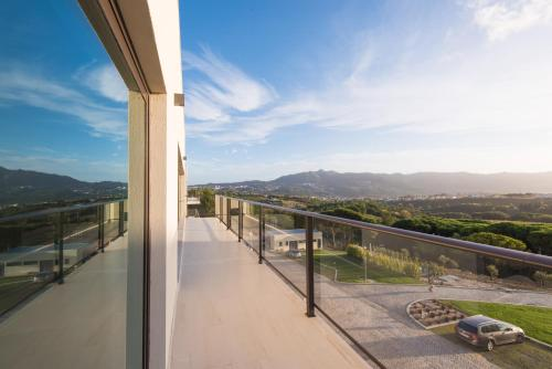 A balcony or terrace at Vila Gale Sintra