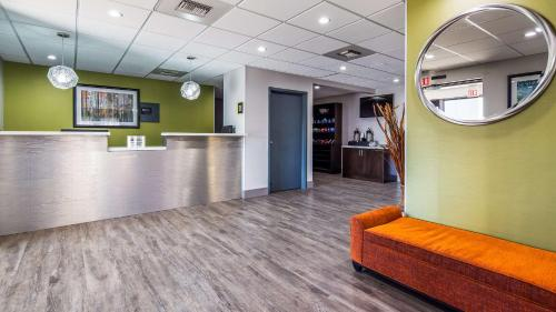 The lobby or reception area at Best Western Rock Hill