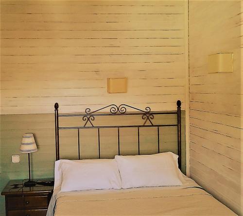 Cama o camas de una habitación en Hostal Martin