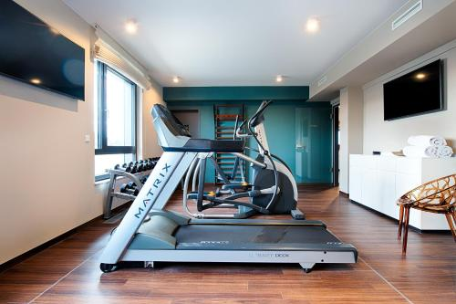 The fitness center and/or fitness facilities at Welcome Hotel Neckarsulm